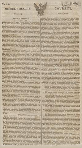 Middelburgsche Courant 1827-03-22