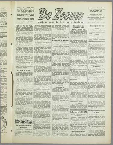 De Zeeuw. Christelijk-historisch nieuwsblad voor Zeeland 1937-10-26