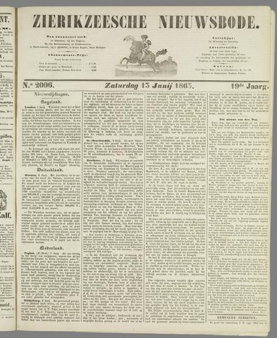Zierikzeesche Nieuwsbode 1863-06-13