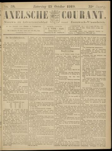 Axelsche Courant 1919-10-25
