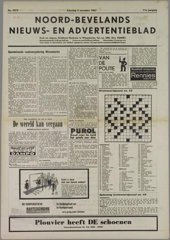 Noord-Bevelands Nieuws- en advertentieblad 1967-11-04