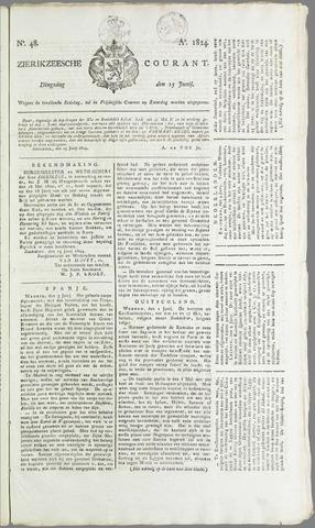 Zierikzeesche Courant 1824-06-15