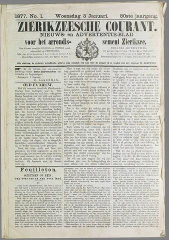 Zierikzeesche Courant 1877
