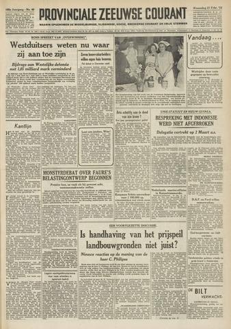 Provinciale Zeeuwse Courant 1952-02-27