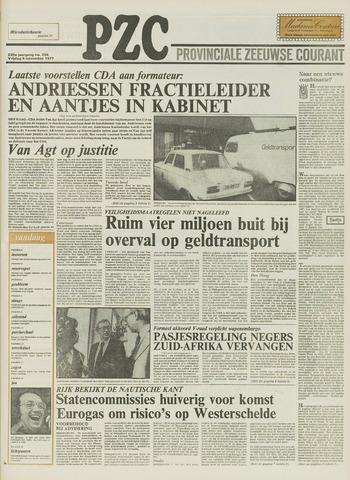 Provinciale Zeeuwse Courant 1977-11-04