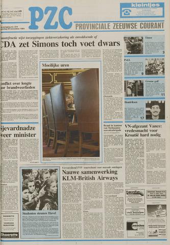 Provinciale Zeeuwse Courant 1991-11-20