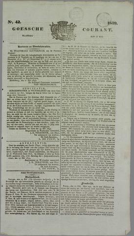 Goessche Courant 1839-05-27