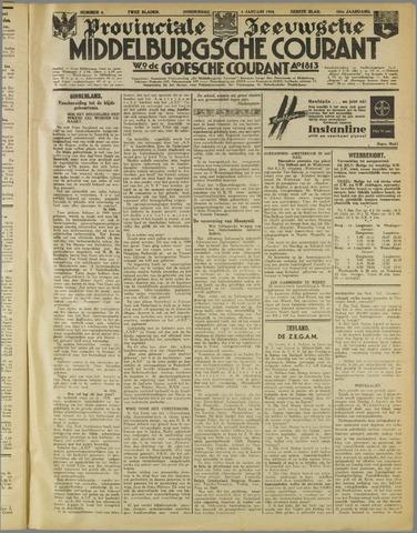 Middelburgsche Courant 1938-01-06