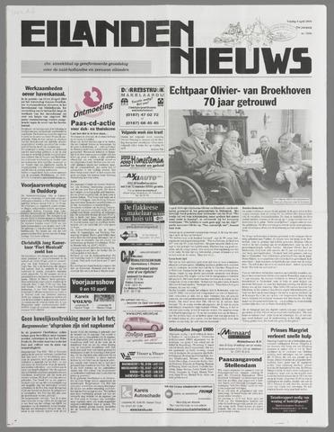 Eilanden-nieuws. Christelijk streekblad op gereformeerde grondslag 2004-04-09