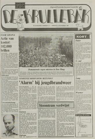 Provinciale Zeeuwse Courant katern Krullenbak (1981-1999) 1983-11-08
