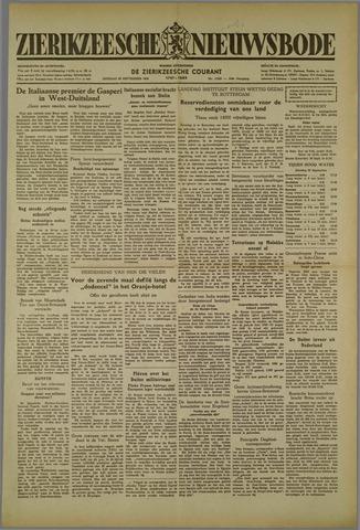 Zierikzeesche Nieuwsbode 1952-09-23