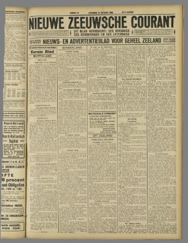 Nieuwe Zeeuwsche Courant 1926-10-16