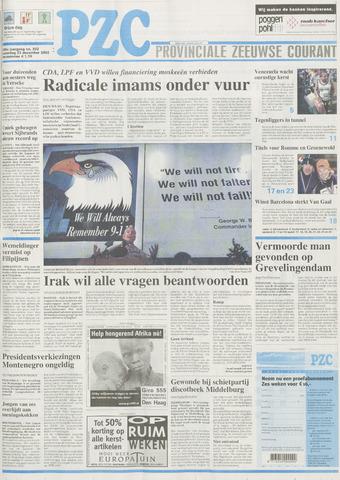Provinciale Zeeuwse Courant 2002-12-23