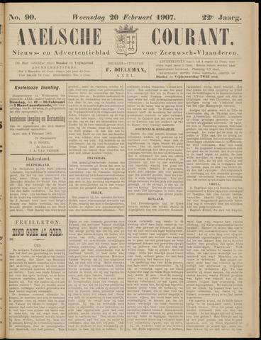 Axelsche Courant 1907-02-20