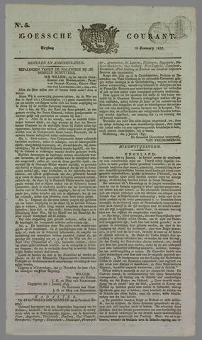 Goessche Courant 1833-01-18