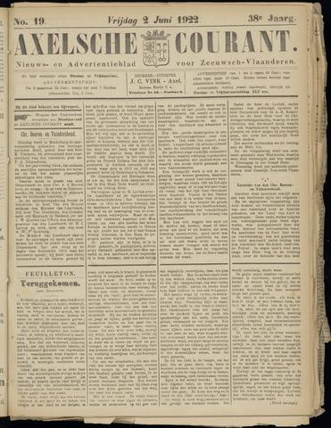 Axelsche Courant 1922-06-02