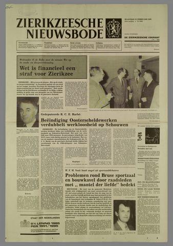Zierikzeesche Nieuwsbode 1985-02-25
