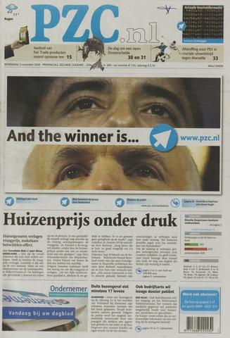 Provinciale Zeeuwse Courant 2008-11-05