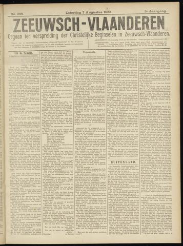 Luctor et Emergo. Antirevolutionair nieuws- en advertentieblad voor Zeeland / Zeeuwsch-Vlaanderen. Orgaan ter verspreiding van de christelijke beginselen in Zeeuwsch-Vlaanderen 1920-08-07