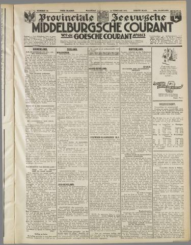 Middelburgsche Courant 1937-02-22