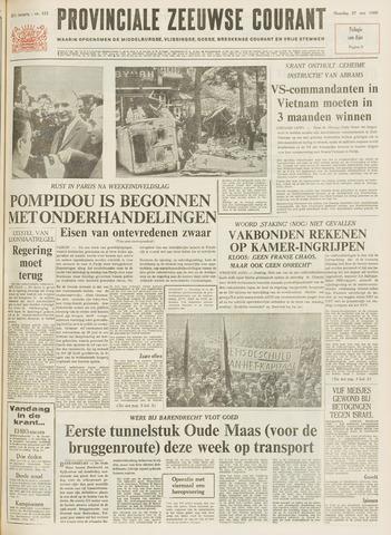 Provinciale Zeeuwse Courant 1968-05-27