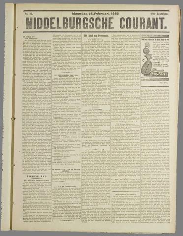 Middelburgsche Courant 1925-02-16