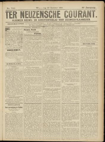 Ter Neuzensche Courant. Algemeen Nieuws- en Advertentieblad voor Zeeuwsch-Vlaanderen / Neuzensche Courant ... (idem) / (Algemeen) nieuws en advertentieblad voor Zeeuwsch-Vlaanderen 1926-10-20
