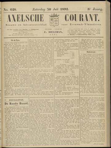 Axelsche Courant 1892-07-30