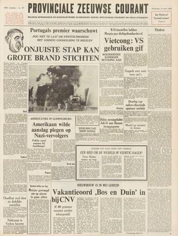 Provinciale Zeeuwse Courant 1966-04-14