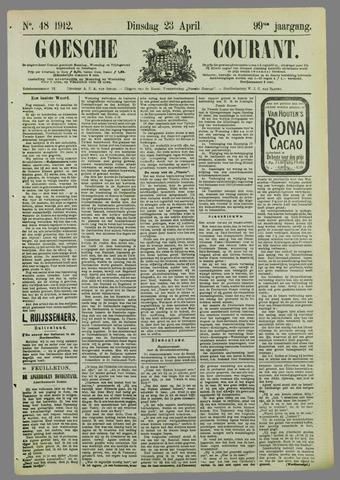 Goessche Courant 1912-04-23