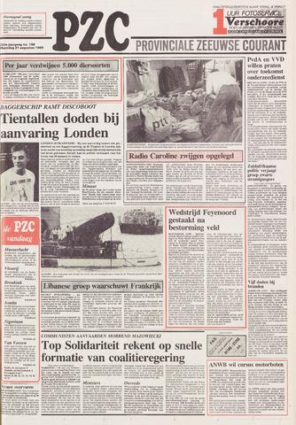 Provinciale Zeeuwse Courant 1989-08-21