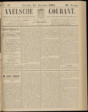 Axelsche Courant 1904-08-13
