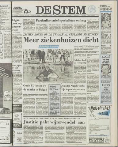 de Stem 1987-02-21