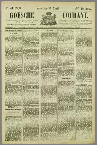 Goessche Courant 1908-04-11