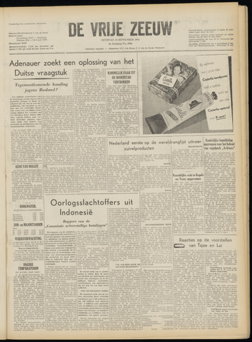 de Vrije Zeeuw 1953-09-15