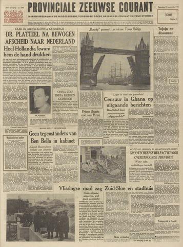 Provinciale Zeeuwse Courant 1962-09-29