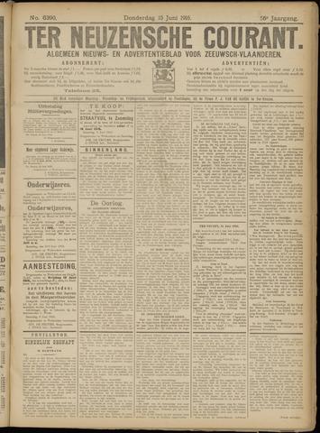 Ter Neuzensche Courant. Algemeen Nieuws- en Advertentieblad voor Zeeuwsch-Vlaanderen / Neuzensche Courant ... (idem) / (Algemeen) nieuws en advertentieblad voor Zeeuwsch-Vlaanderen 1916-06-15