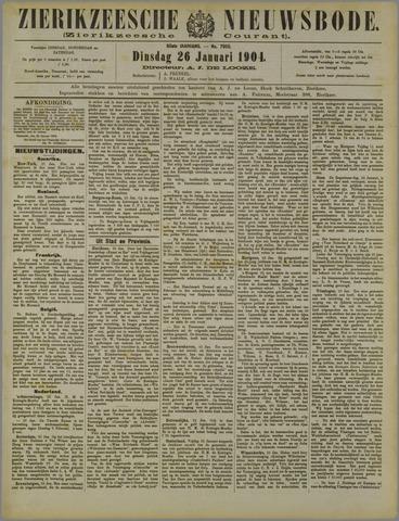 Zierikzeesche Nieuwsbode 1904-01-26