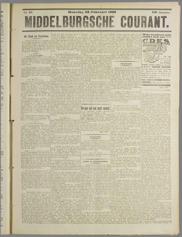 Middelburgsche Courant 1925-02-23