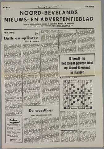 Noord-Bevelands Nieuws- en advertentieblad 1977-08-18
