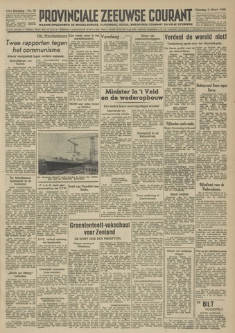 Provinciale Zeeuwse Courant 1948-03-02