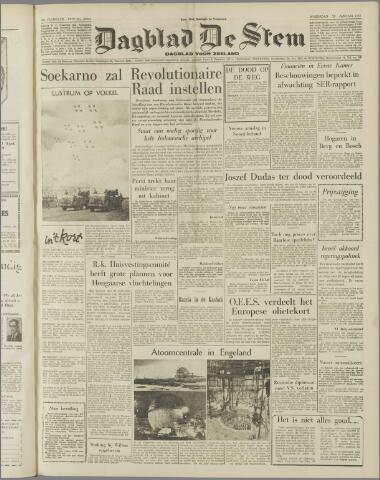 de Stem 1957-01-16