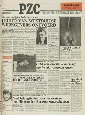 Provinciale Zeeuwse Courant 1977-09-06