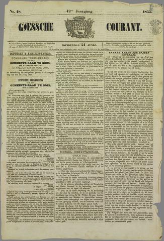 Goessche Courant 1855-06-21