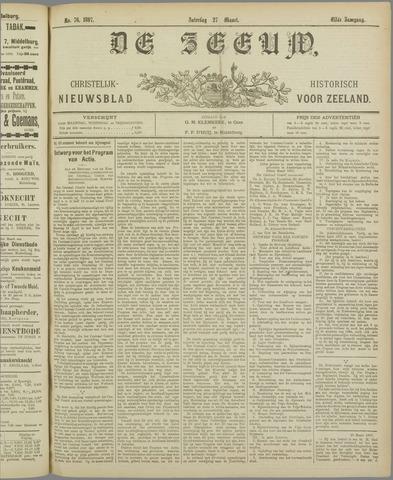 De Zeeuw. Christelijk-historisch nieuwsblad voor Zeeland 1897-03-27