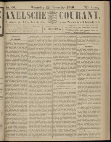 Axelsche Courant 1916-11-22