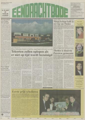Eendrachtbode (1945-heden)/Mededeelingenblad voor het eiland Tholen (1944/45) 2004-02-26