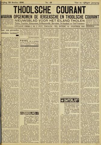 Ierseksche en Thoolsche Courant 1936-10-23