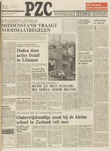 Provinciale Zeeuwse Courant 1974-06-21