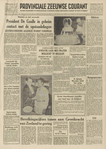 Provinciale Zeeuwse Courant 1961-01-12